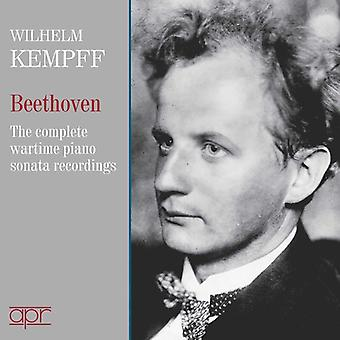 Beethoven / Kempff - Beethoven / Kempff: Complete Wartime 78 Tallenteet [CD] USA tuonti