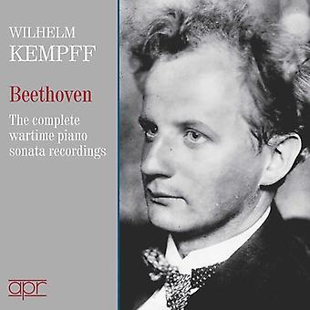 Beethoven / Kempff - Beethoven / Kempff: Komplett Wartime 78 Inspelningar [CD] USA import