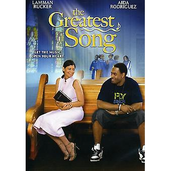 The Greatest Song [DVD] USA import