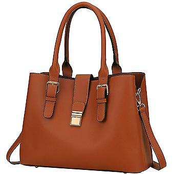 Handbags for Women, VASCHY Soft PU Leather Top Handle Bag