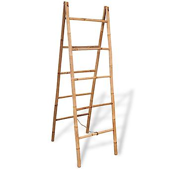Double towel ladder with five bamboo shoots 50 x 160 cm