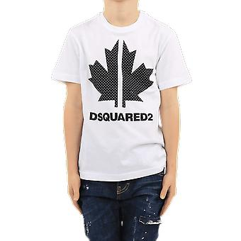 Dsquared2 Camisetas Blancas DQ0028D004GDQ100 Top