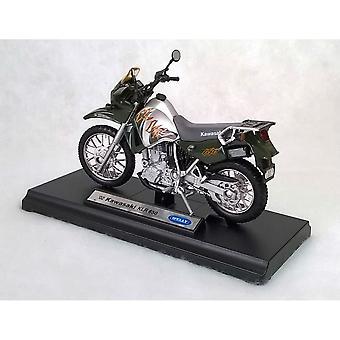 Welly  Model Kawasaki KLR 650 Motorbike  1:18