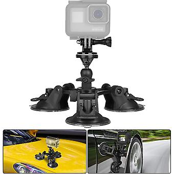Action camera suction cup mount motion camcorder car windshield window bonnet door boot lid holder/w