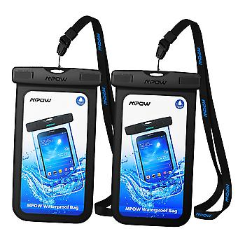 Mpow waterproof case, ipx8 cellphone dry bag, durable waterproof underwater case for iphone xs/xs ma
