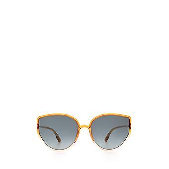 Dior SOSTELLAIRE4 orange gradient pink female sunglasses