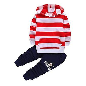 Boys Hooded Top And Pants, Design 1