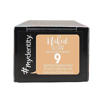 #mydentity Naked Glow Demi-Permanent Hair Colour - 9 Light Blonde