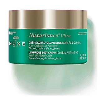 Nuxuriance Ultra Body Cream 200 ml of cream (Floral)