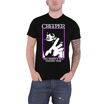 Creeper T Shirt Sex Death & The Infinite Void Band Logo new Official Mens Black