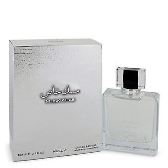 Musk Khas Eau De Parfum Spray (Unisex) By Nusuk 3.4 oz Eau De Parfum Spray