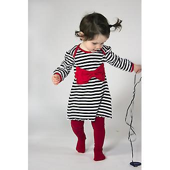 Rockabye baba piros íj ruha fekete és piros 3-6m
