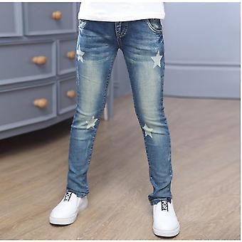 Children Denim Pants, Star Print Jeans