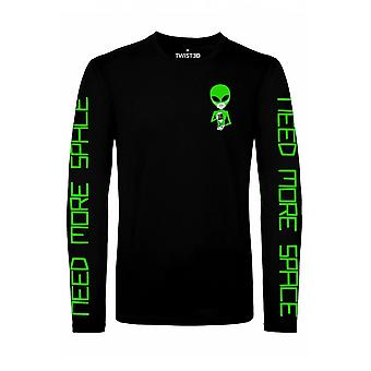 Twisted Apparel Need Space Longsleeve Top