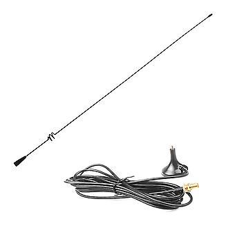 ثنائي اتجاه راديو VHF Uhf Sma المغناطيسي هوائي المحمول Ut-108uv لناغويا باوفنغ
