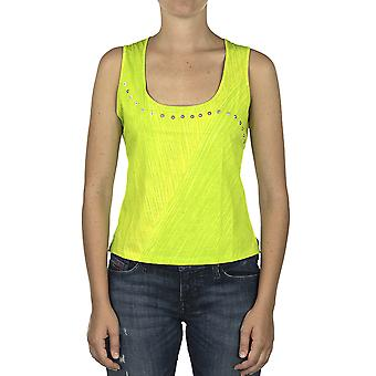 Custo Barcelona Women Tank top Yeh Green  Multicolor