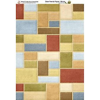 Nitwit Collection - DF Blocks Paper A4 10 Sheets