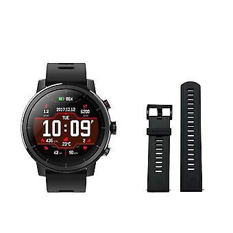 1.2 Ghz amazfit stratos 5atm smartwatch impermeabile con bluetooth, gps, fitness tracker, altimetro, messaggio e chiamate android ios
