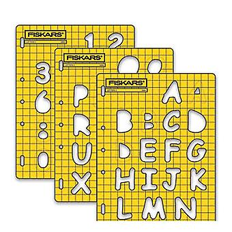 Fiskars Shape Cutter Template - Letters 3