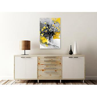 Painting - Bouquet of Colours (1 Part) Vertical Yellow60x90