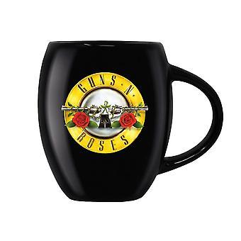 Guns N' Roses Bullet Logo Oval mok