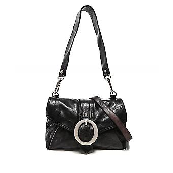 Campomaggi Leather Buckle Shoulder Bag