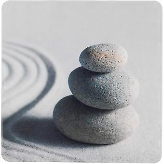 badvorleger Sand Stone 54 x 54 cm hellgrau