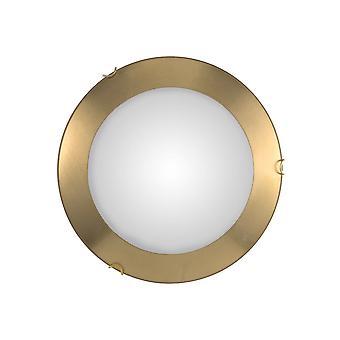 Kolarz MOON - Lifestyle Simple Flush Plafondlamp Goud, 2x E27