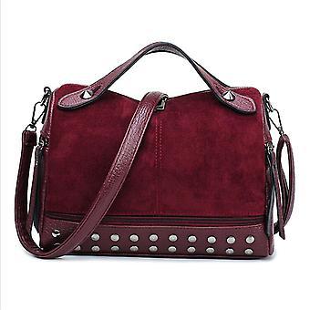 Women Faux Leather Handbag, Shoulder Messenger Bag