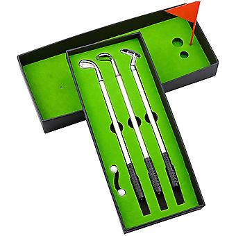 FengChun Golf Stifte, Golfschlger Kugelschreiber Mini-Golfblle Mini Desktop Golfball Stift Geschenk