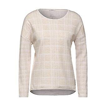 Cecil 315474 T-Shirt, Camel Soft Melange, XXL Woman