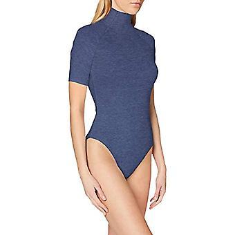 G-STAR RAW Melam Slim Body T-Shirt, Blå (Servant Blue Htr A872-B239), Stor kvinna