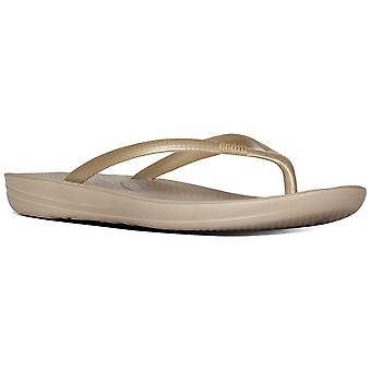 Fitflop™ Gold Iqushion™ ergonomische teenslippers