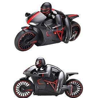 Mini Rc Moto Avec Lumière Fraîche, Moto Modèle De Jeu, Télécommande Drift