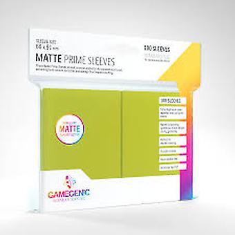 Gamegenic Matte Prime Lime - 100 Sleeves