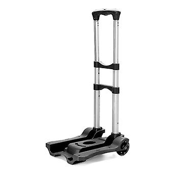 Folding Travel Hand Truck 40kg 88lbs Solid Construction Utility Cart