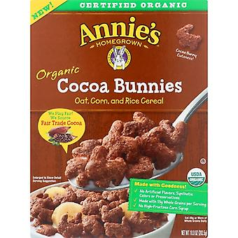 Annie's Homegrown Cereal Cocoa Bunnies, Case of 10 X 10 Oz