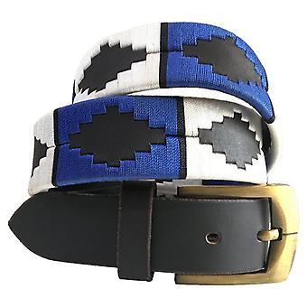 Carlos Díaz cinturón de cuero marrón awo668466202533