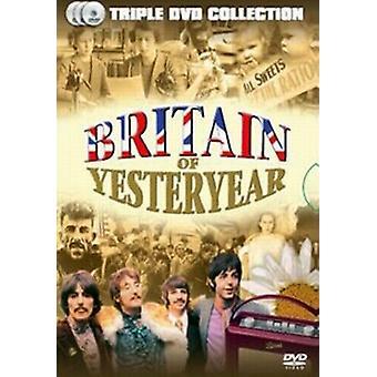 Britain of Yesteryear DVD (2006) Rainha Elizabeth II cert E 3 discos Região 2