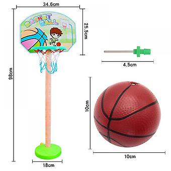 Children's Basketball Stand Safety Puzzle Parent-child Sports Outdoor Sports Early Education Toys
