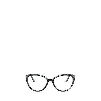 Prada PR 06WV spotted light blue female eyeglasses