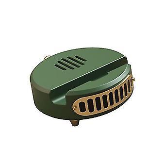 Retro Audio, Tragbares Radio, Drahtloser Subwoofer, Kleiner Bluetooth-Lautsprecher (grün)