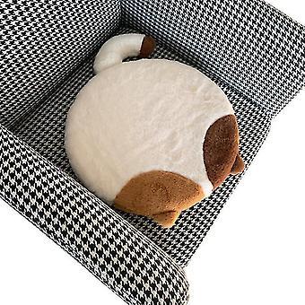 Faux Kaninchen Pelz Stuhl Pads Abnehmbares waschbares Kissen Memory Foam Süße Katze Bequemer Hintern