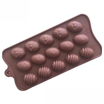 4PCS  Egg Easter Chocolate Cake ice Cube Candy Cookie Silicone Mold Mould Decorating