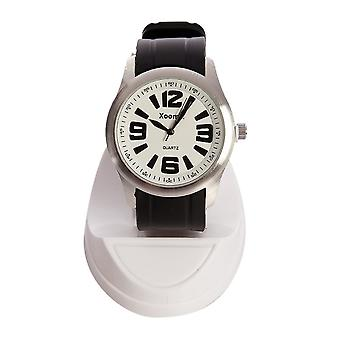 Xoom 92-18440-31001 Wristwatch, Metal Case, Gift for Men, Watch, Silicon Cord