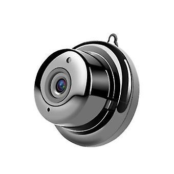 Spy Kamera-WiFi Mini skjult kamera Trådløst HD-kamera Videoovervågning Portable Indendørs Udendørs Home Security (Sort)