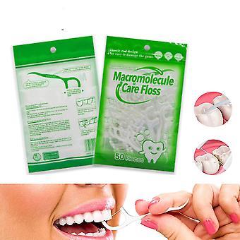 Bastoncino per denti per la cura orale del filo interdentale - Spazzole interdentali pulite