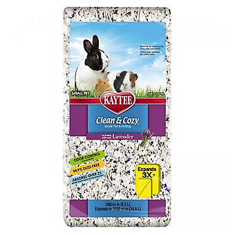 Kaytee Clean & Cozy Small Pet Bedding - Lavender - 500 Cubic Inches