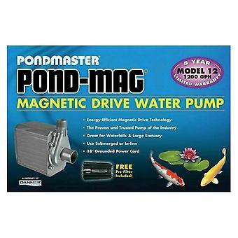 Pondmaster Pond-Mag Magnetic Drive Utility Pond Pump - Model 12 (1200 GPH)