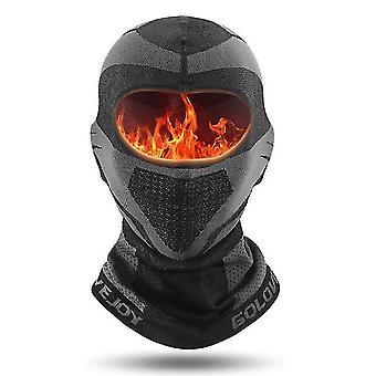 בגדי ריקוד גברים חורף כובעי גרב מסכת פנים מזג אוויר קר עמיד צמר סקי מסכת Ninja